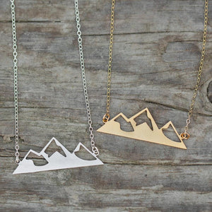 Mountain's Calling Necklace