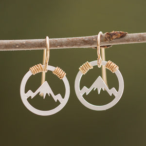 Montana Mountain Skyline Earrings