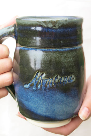 Montana Porcelain Clay Mug - Distinctly Montana - 3