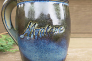 Montana Porcelain Clay Mug - Distinctly Montana - 2