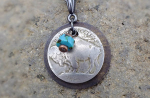 Buffalo Head Necklace