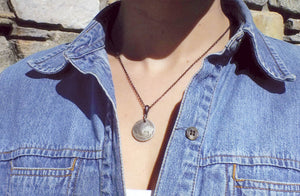 Buffalo Coin Necklace Duo