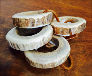 Elk Antler Napkin Rings (Set of 4) - Distinctly Montana - 1