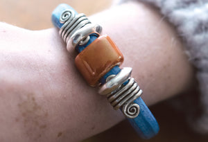 Big Sky Leather Bracelet