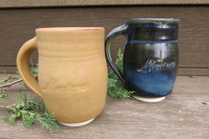 Montana Porcelain Clay Mug - Distinctly Montana - 1