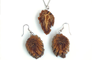 Lodgepole Pine Cone Earrings
