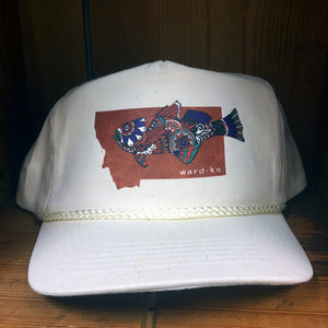 Lady Fishing Retro Montana Hat
