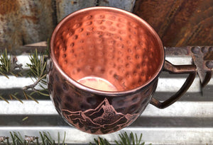 Copper Montana Mountain Mug