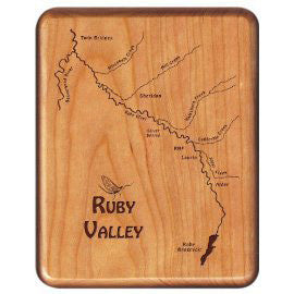 Walnut Fly Box - Distinctly Montana - 45