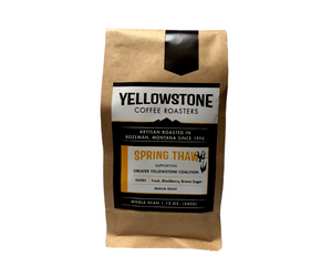 """Spring Thaw"" - Yellowstone Seasonal Community Coffee Gift Set"