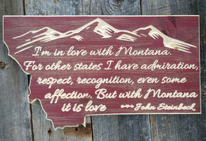 Montana Steinbeck Quote (Color choices)