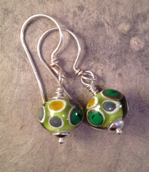 Summer Greens Montana Earrings - made in Montana