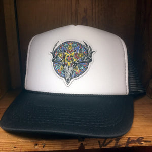 The Huntress Two Tone Trucker Hat  SOLD OUT