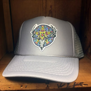 The Huntress Solid Color Trucker Hat