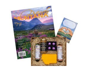 'The Treasure State' Montana Made Care Package