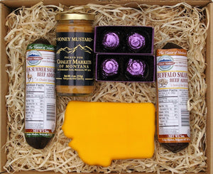 'The Treasure State' Montana Made Gift Basket
