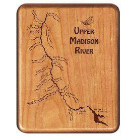 Walnut Fly Box - Distinctly Montana - 38