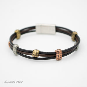 Tumbleweed Leather Bracelet (New Color added)