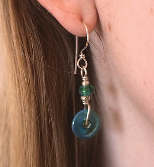 Green Pastures Montana Earrings - made in Montana
