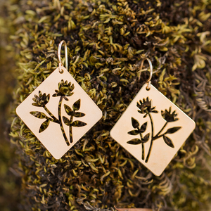 Wildflower Montana Earrings (Gold or Silver)