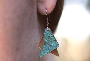 Zodiac Copper Earrings