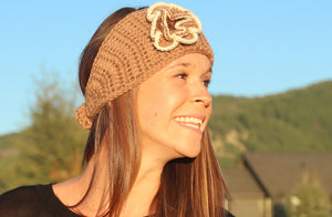 Alpaca Fur Headband