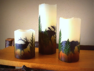 Montana Wildlife Flameless Candles - Distinctly Montana - 2