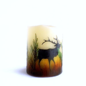 Montana Elk Flameless Candles - Distinctly Montana - 7