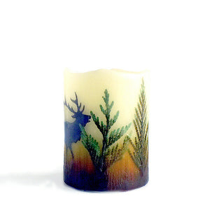 Montana Wildlife Flameless Candles - Distinctly Montana - 8