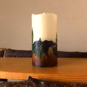 Montana Wildlife Flameless Candles - Distinctly Montana - 4