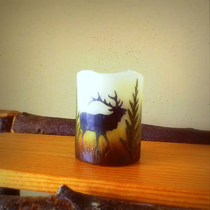 Montana Wildlife Flameless Candles - Distinctly Montana - 3