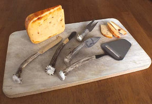Deer Antler Cheese Set