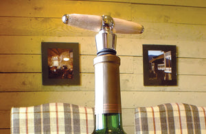 T-Handle Antler Corkscrew & Stopper Combo - Distinctly Montana - 3