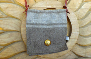 Small Wool Bag, Millitary Blankets