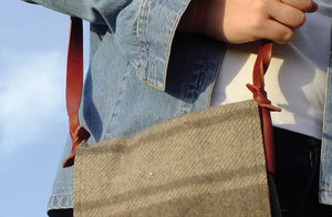 'Petite' Wool Carrier Bag SOLD OUT