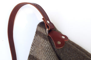 Wool Messenger Bag, Strap
