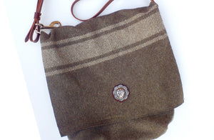 'Everything' Large Wool Messenger Bag SOLD OUT