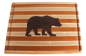 Hardwood Cutting Board - The Grizzly Bear - Distinctly Montana - 4