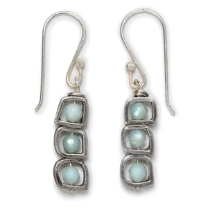 Amazonite Stacks Earrings