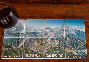 Big Sky Ski Coasters (8 set)