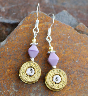 Bullet earrings - Made in Montana