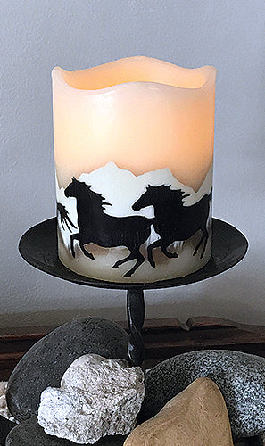 Flameless Candle with Timer