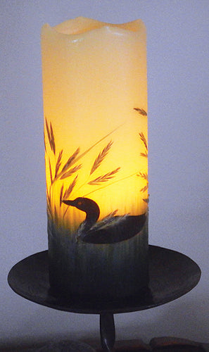 Loon Flameless Candle with Timer