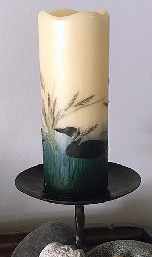 Loon Flameless Candle