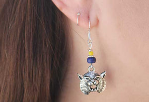 MSU Bobcat Earrings