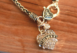 I Love Montana Necklace