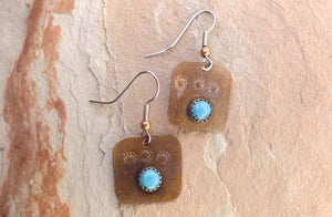 Paradise Valley Copper Earrings