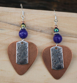 Montana Joy Copper Earrings - Montana gift