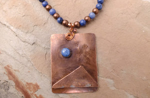 Lone Peak Copper Necklace