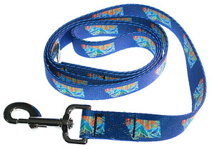 """Love Montana"" Dog Collar & Leash"